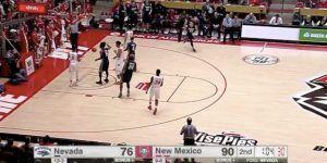 Video: equipo de la NCAA remonta 14 puntos en menos de 2 minutos