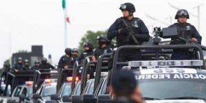 Envían mil policías federales a reforzar la seguridad de Veracruz