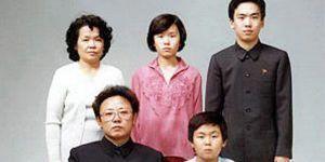 Fotos de la infancia de Kim Jong-nam