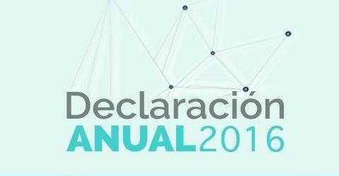 Asalariados ya no están obligados a presentar declaración anual 2016