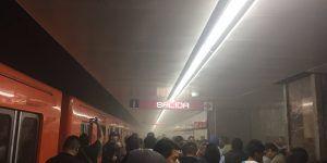 Evacúan el Metro Insurgentes