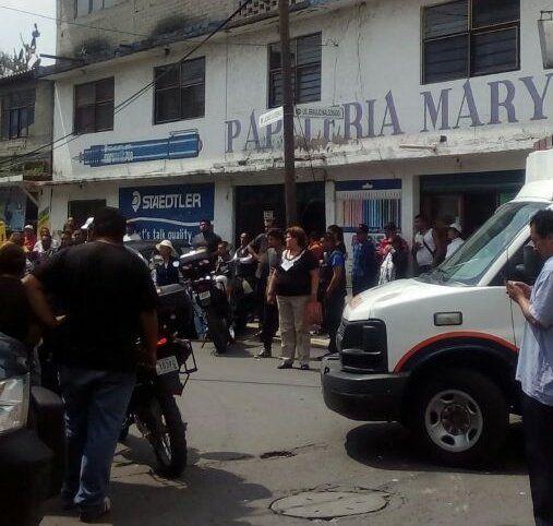 Tiroteo en Iztapalapa deja tres heridos