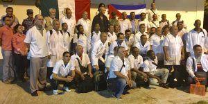 México recibe ayuda humanitaria de Cuba