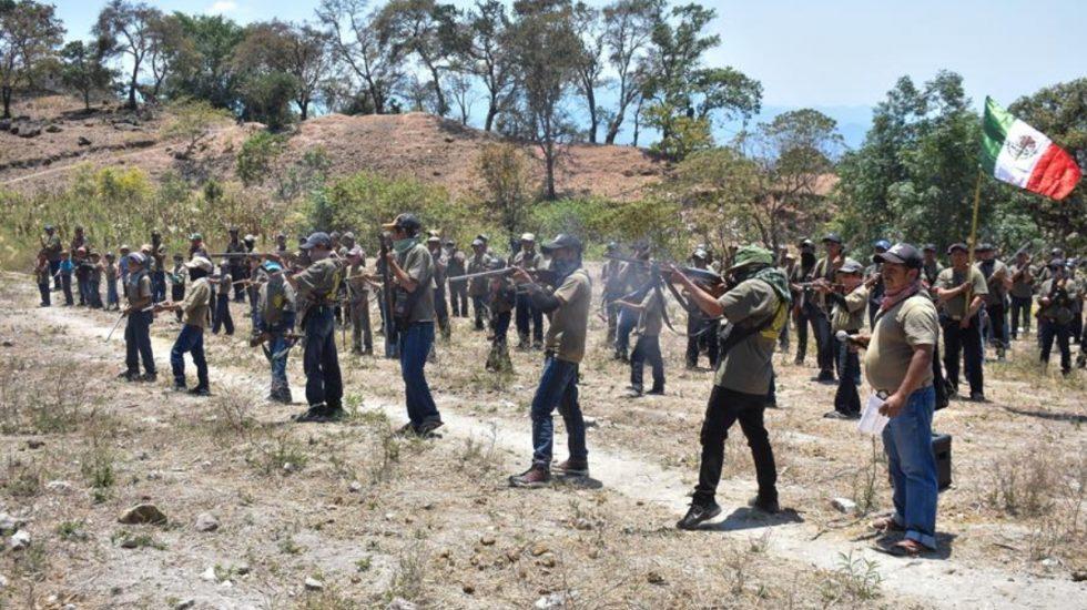 Se integran 31 niños a policía comunitaria de Guerrero